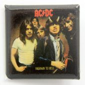 AC/DC - 'Highway to Hell' Square Badge